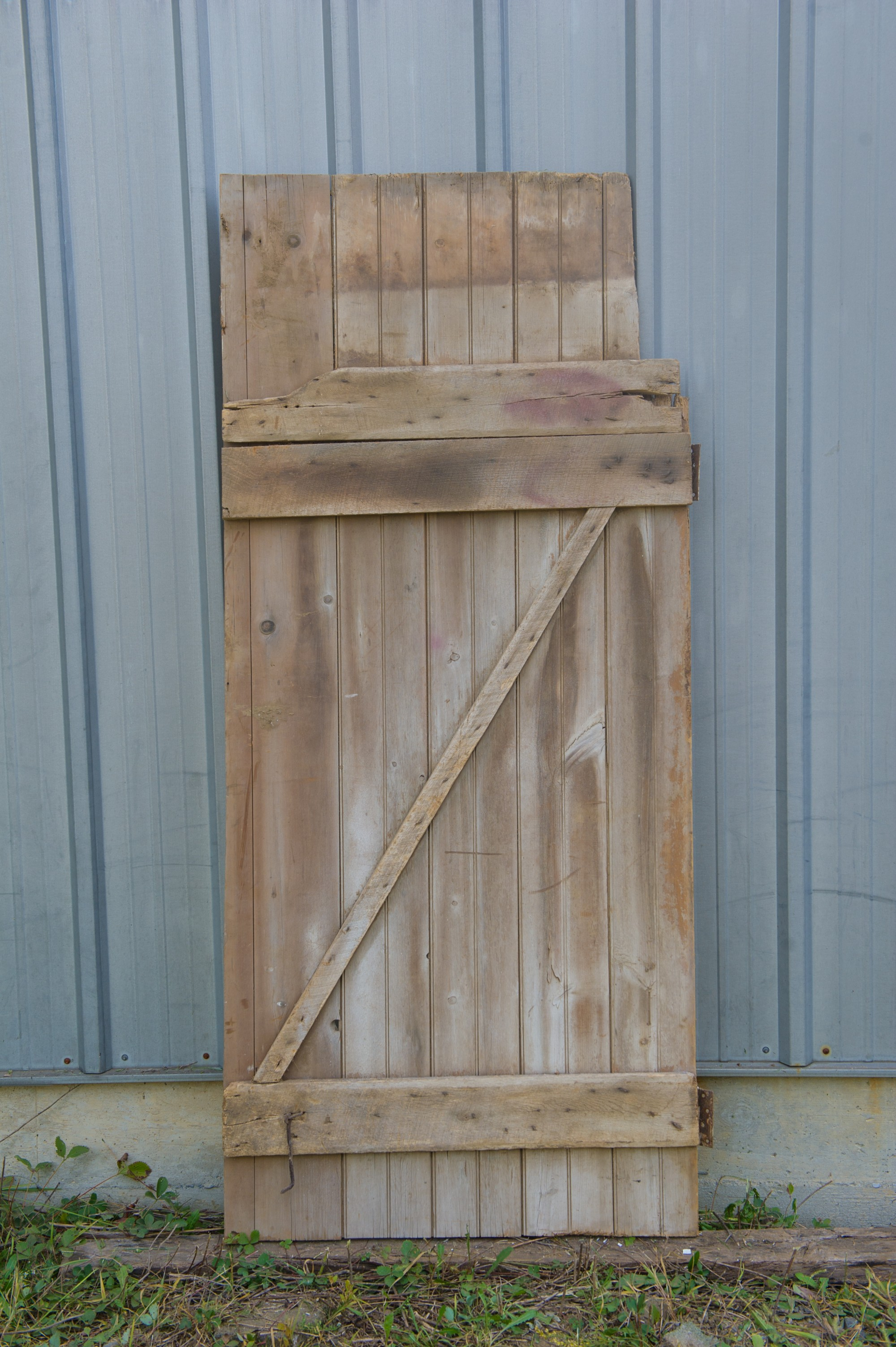 Vintage Oak Barn Door