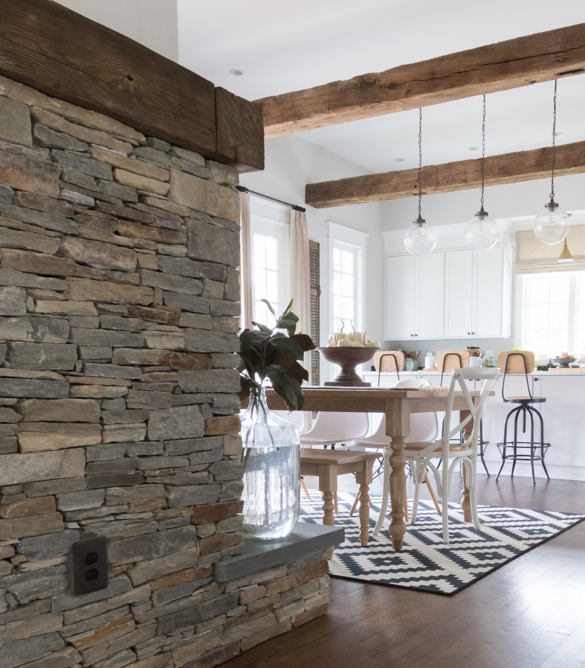 Reclaimed-American-Wormy-Chestnut-Beams-and-Mantels