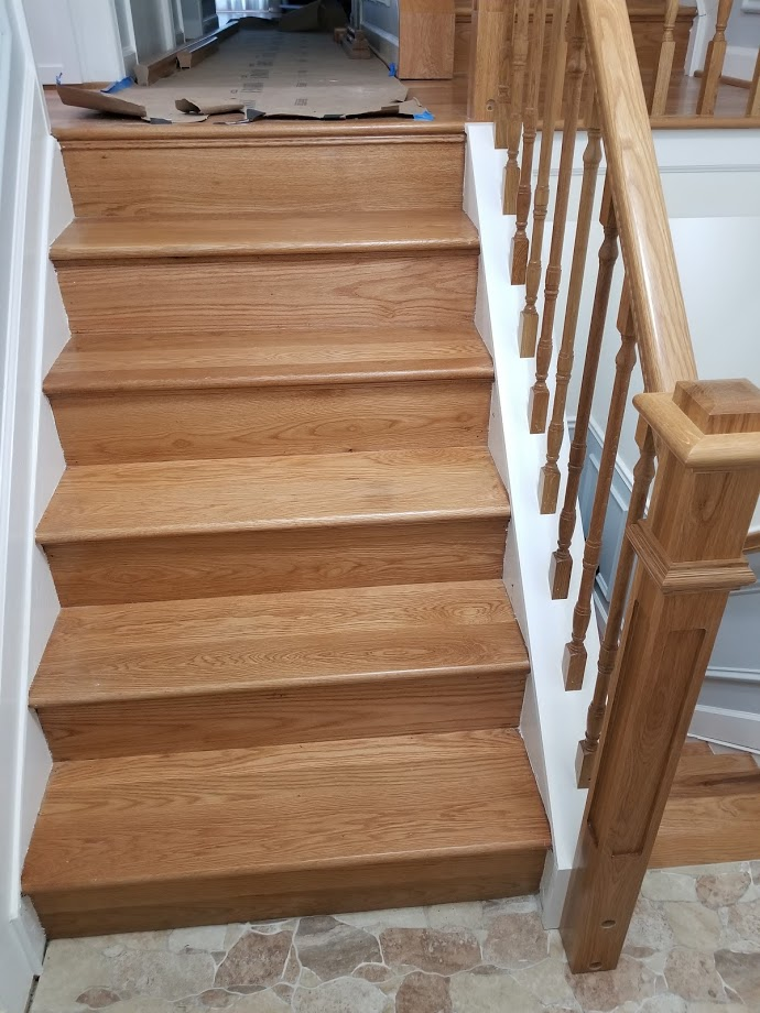 Select White Oak Flooring 3″-6″ and Stair Treads